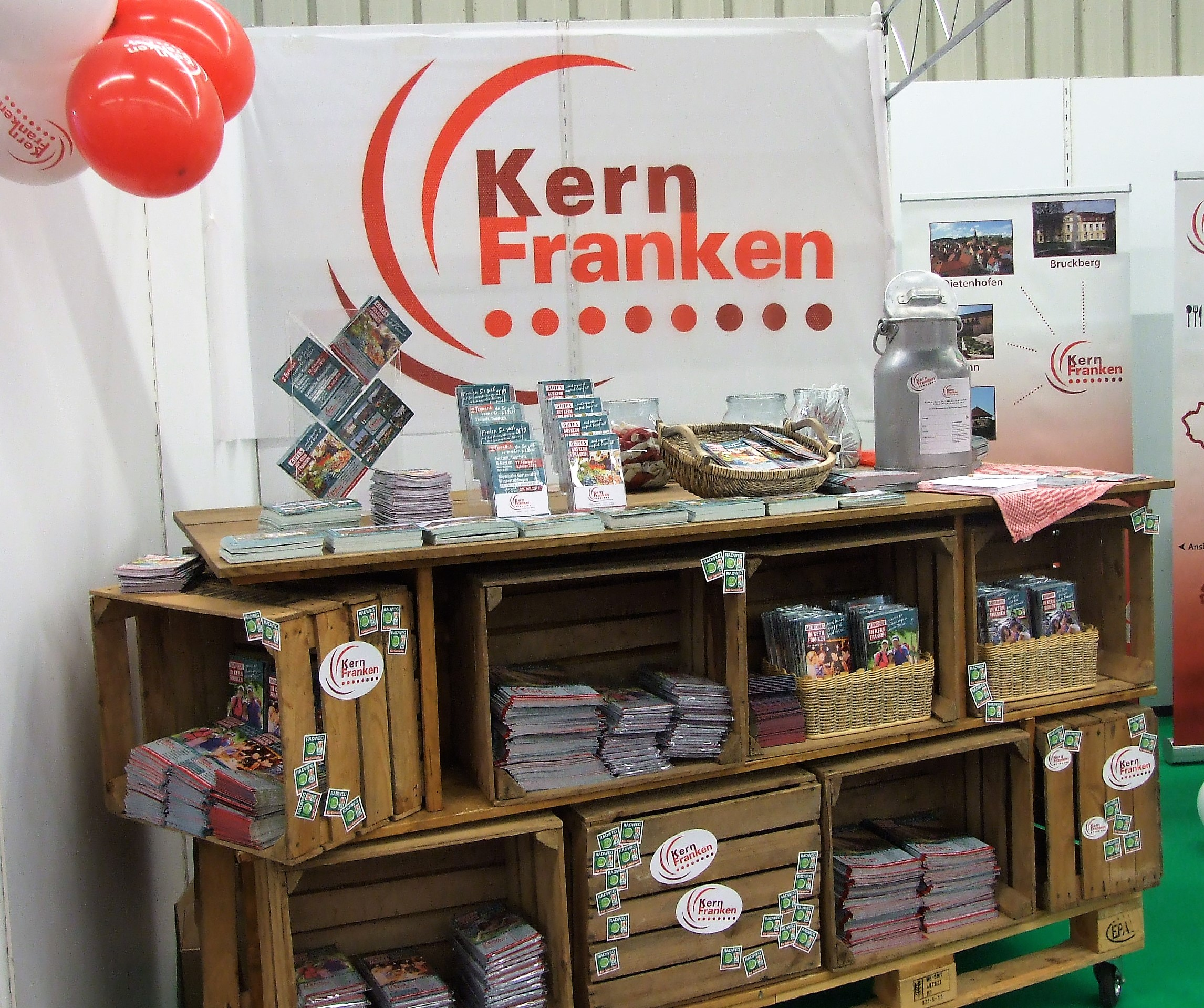 Messestand Kernfranken